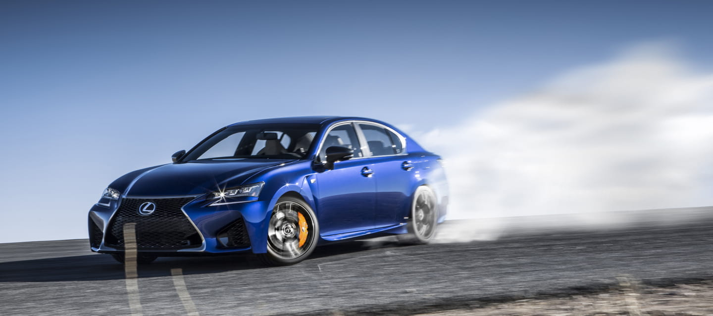 Lexus GS F: photo by photo, a new review of the Japanese BMW M5