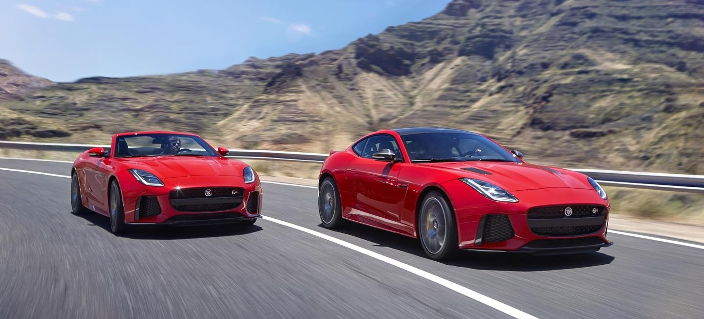Jaguar F-Type 2018: the feline sharpens its claws to attack the competition