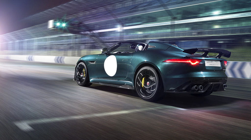 Jaguar Project 7: the batch F-Type has no roof (nor does it need to)