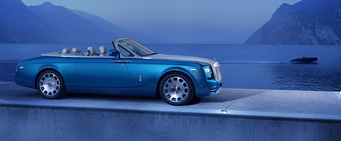 Rolls-Royce Phantom Waterspeed Collection: fast on land and sea