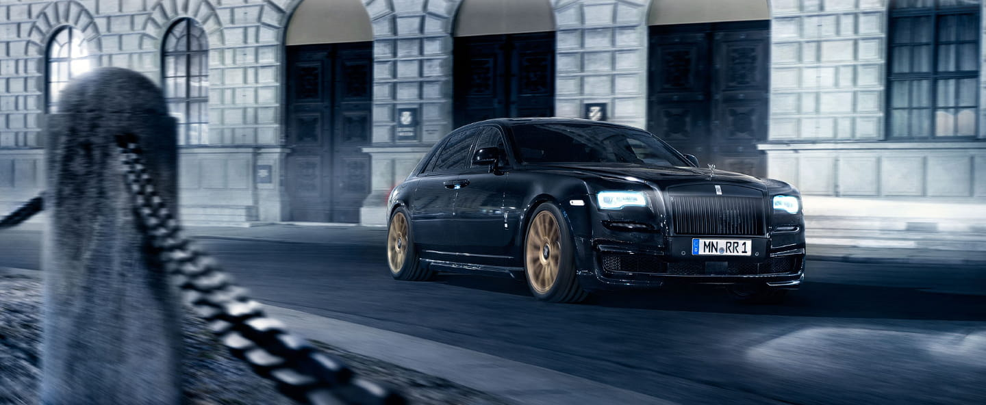Rolls-Royce Ghost II by Spofec: extra personality, extra power