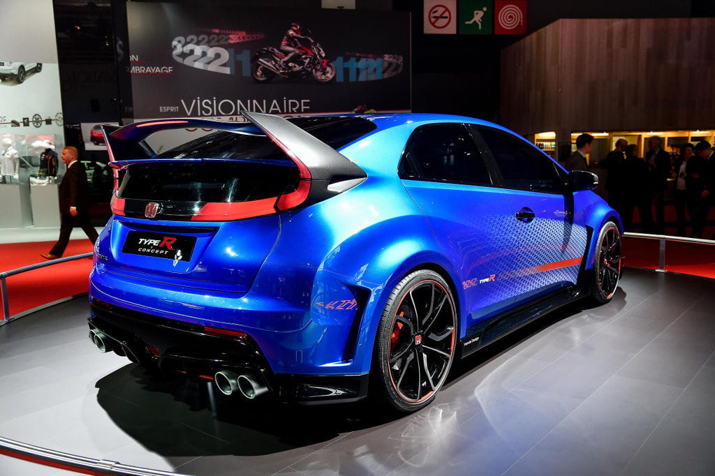 The sportiest outlook of the show: Paris Motor Show 2014