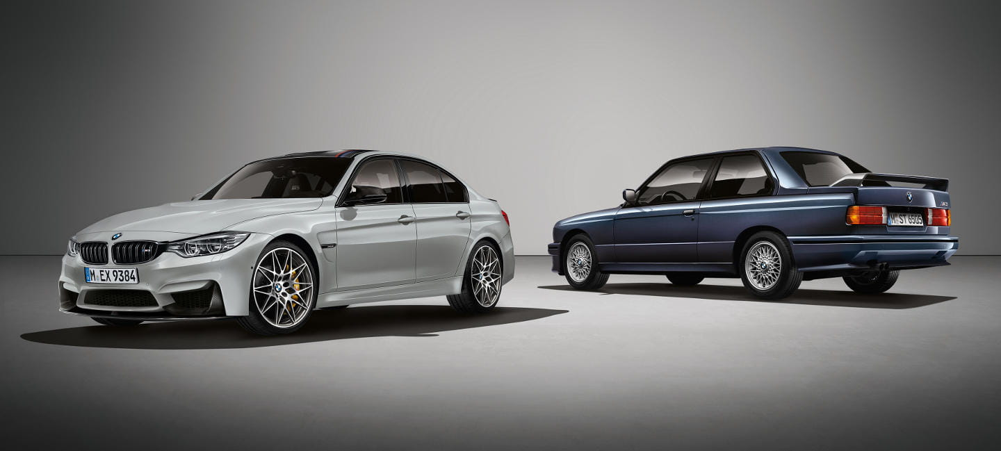 BMW M3 30 Jahre: more power and extra sports equipment only for the United Kingdom