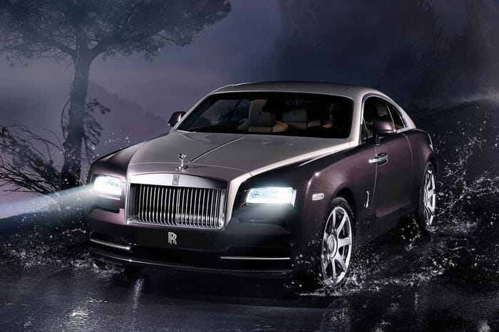 Rolls-Royce Wraith, a high-flying coupe and 624 hp of power
