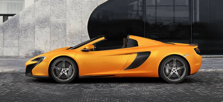 McLaren 650S Spider, all the details of the new Woking convertible