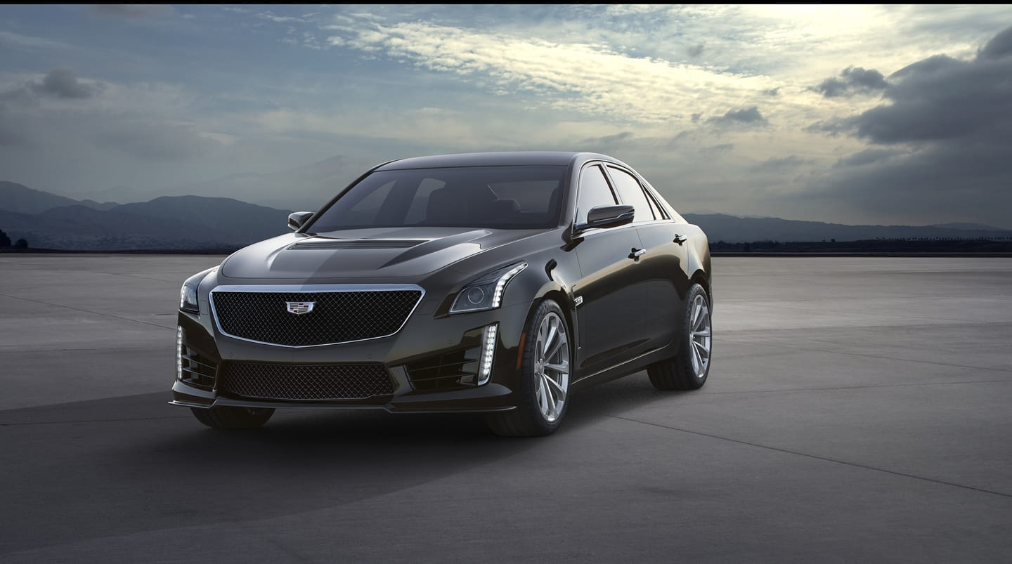 Cadillac CTS-V: the US is not afraid of the BMW M5