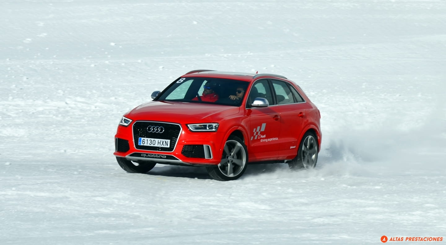 Audi Winter Driving Experience: snow, quattro drive and tons of fun