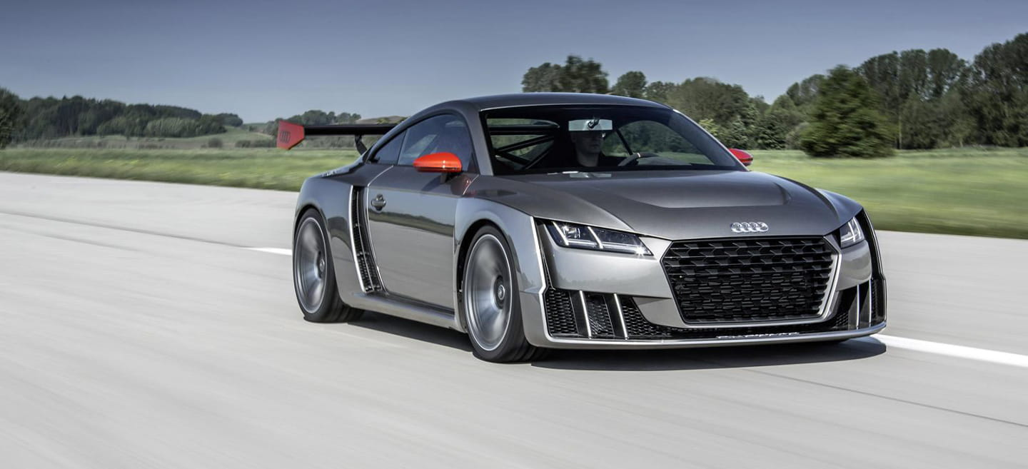 Audi TT Clubsport Turbo Concept: photo by photo, a new look at the most radical TT
