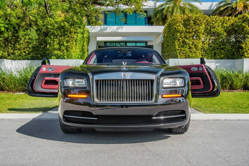 Hire A 2016 Rolls Royce Wraith In Miami