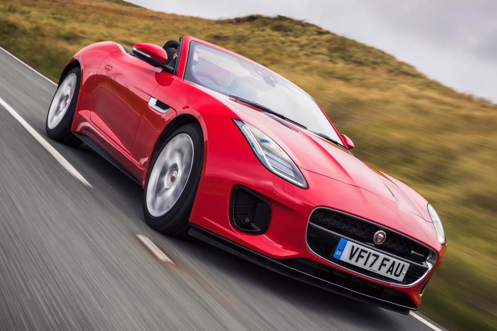 Hire A Jaguar F Type convertable In UK