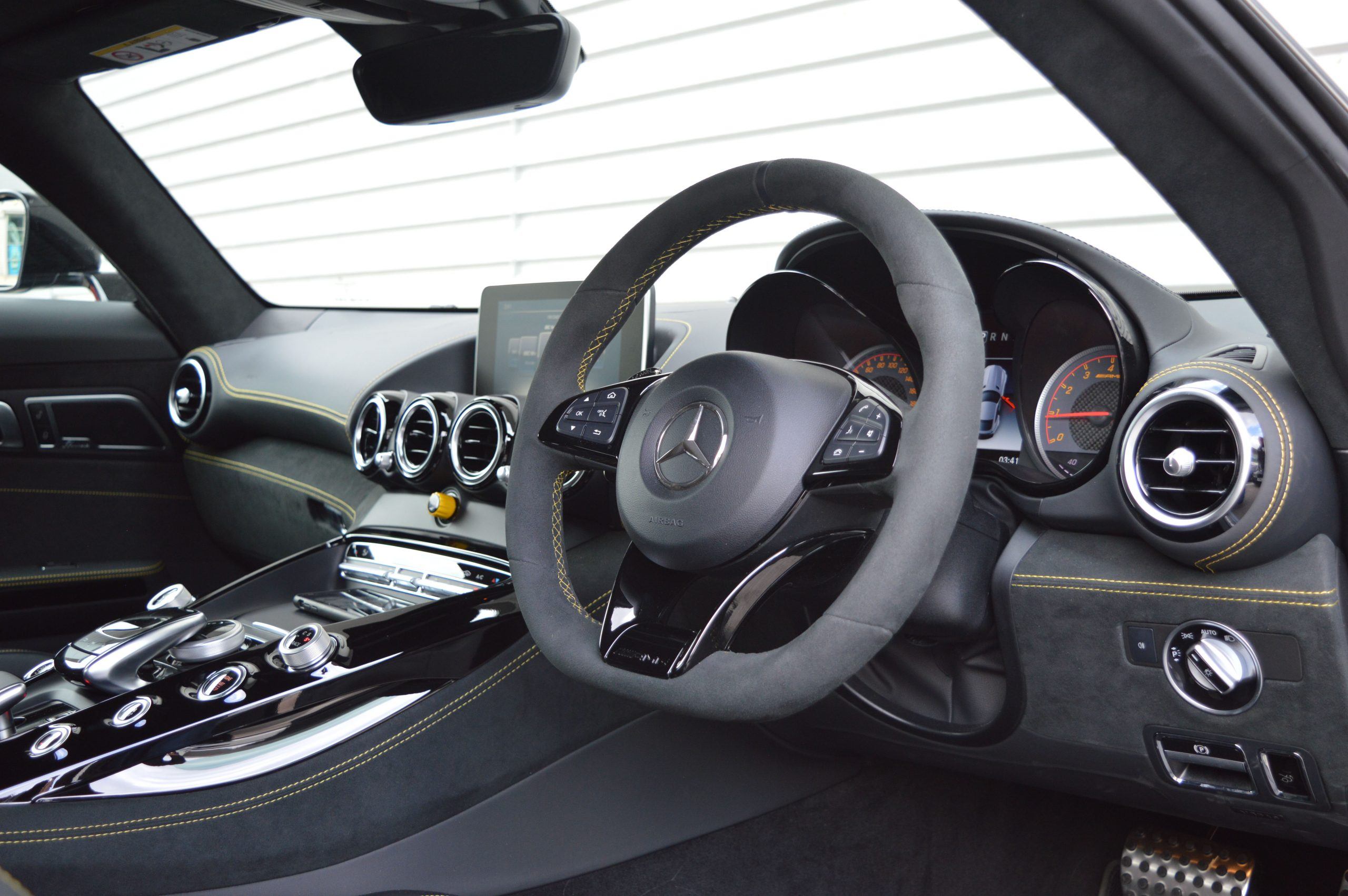 Hire A Mercedes AMG GTR In UK