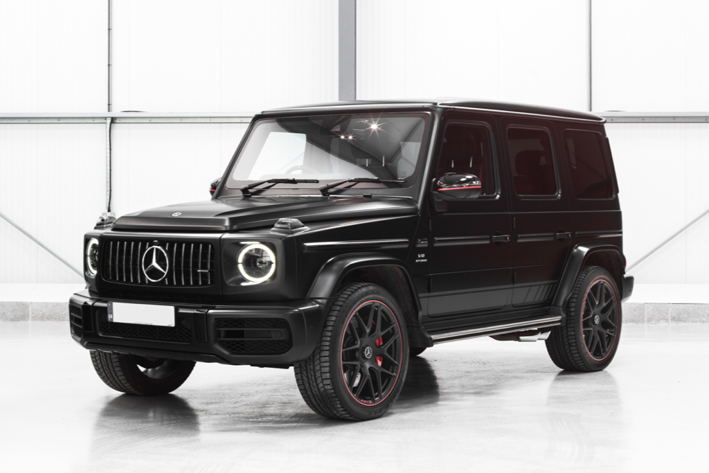 Hire A Mercedes G63 AMG In UK