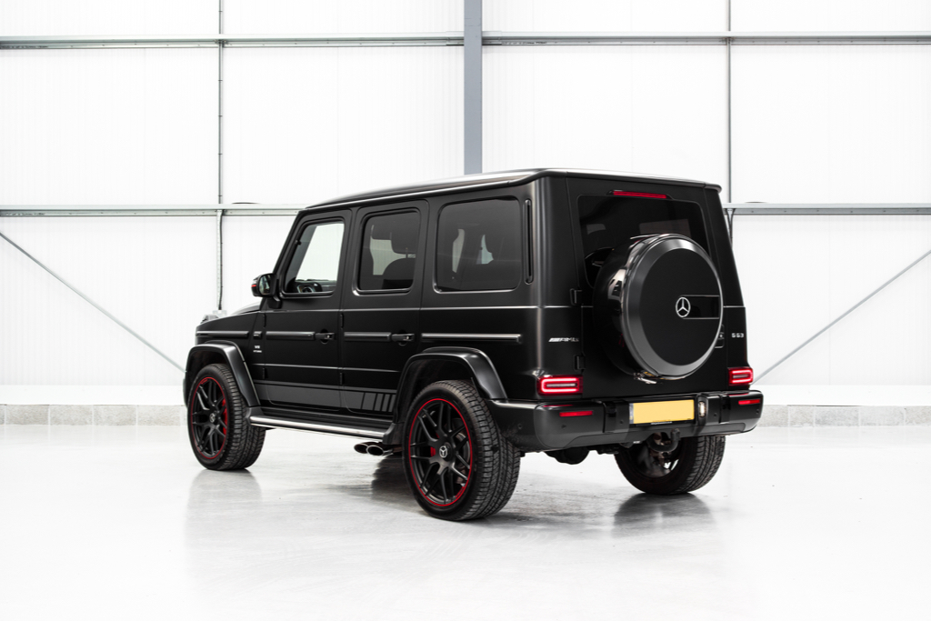 Hire A Mercedes G AMG In UK