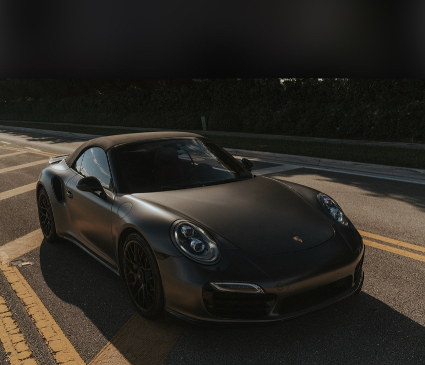 Hire A Porsche 997 Turbo S Cabriolet In UK