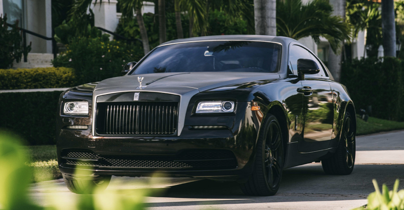 Hire A Rolls Royce Wraith In Miami